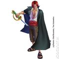 Shanks One Piece Unlimited Adventure Wii