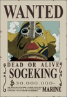 Usopp Wanted Poster