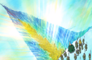 Chinjao Splits Open the Jewel Ice Sheet