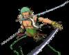 Penampilan Zoro di One Piece Unlimited Adventure