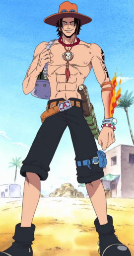 Portgas D. Ace Anime Infobox