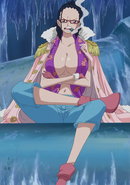 Smoker in Tashigi's Body