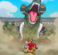 X Drake attacca Sanji e Toko
