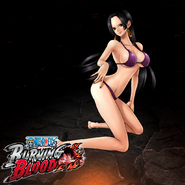 One Piece Burning Blood Swimsuit Hancock (Artwork)