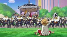Sanji rechaza a Luffy
