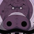 Hippo Gentleman Portrait