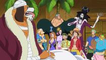 Inuarashi y los Sombrero de Paja