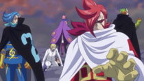 Vinsmokes Salvan a Sanji y Luffy