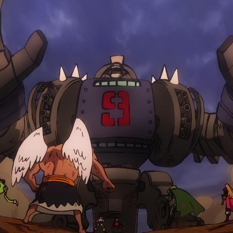 Bullet diventa un robot dopo avere assimilato il suo sottomarino