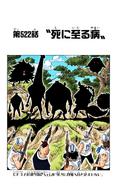 Coloreado Digital del Capítulo 522