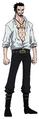 Dracule Mihawk Anime Concept Art