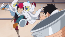 Luffy vs. Grount
