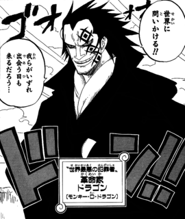 Monkey D. Dragon Manga Infobox
