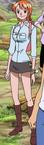 Segunda vestimenta de Nami en el arco del regreso a Water 7