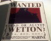 Wetton's Wanted Poster