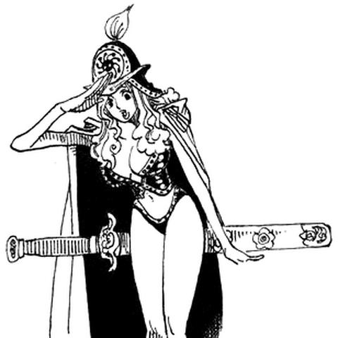 Aphelandra im Manga.