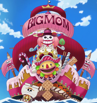 Barco de Big Mom
