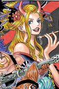 Black Maria en el manga a color
