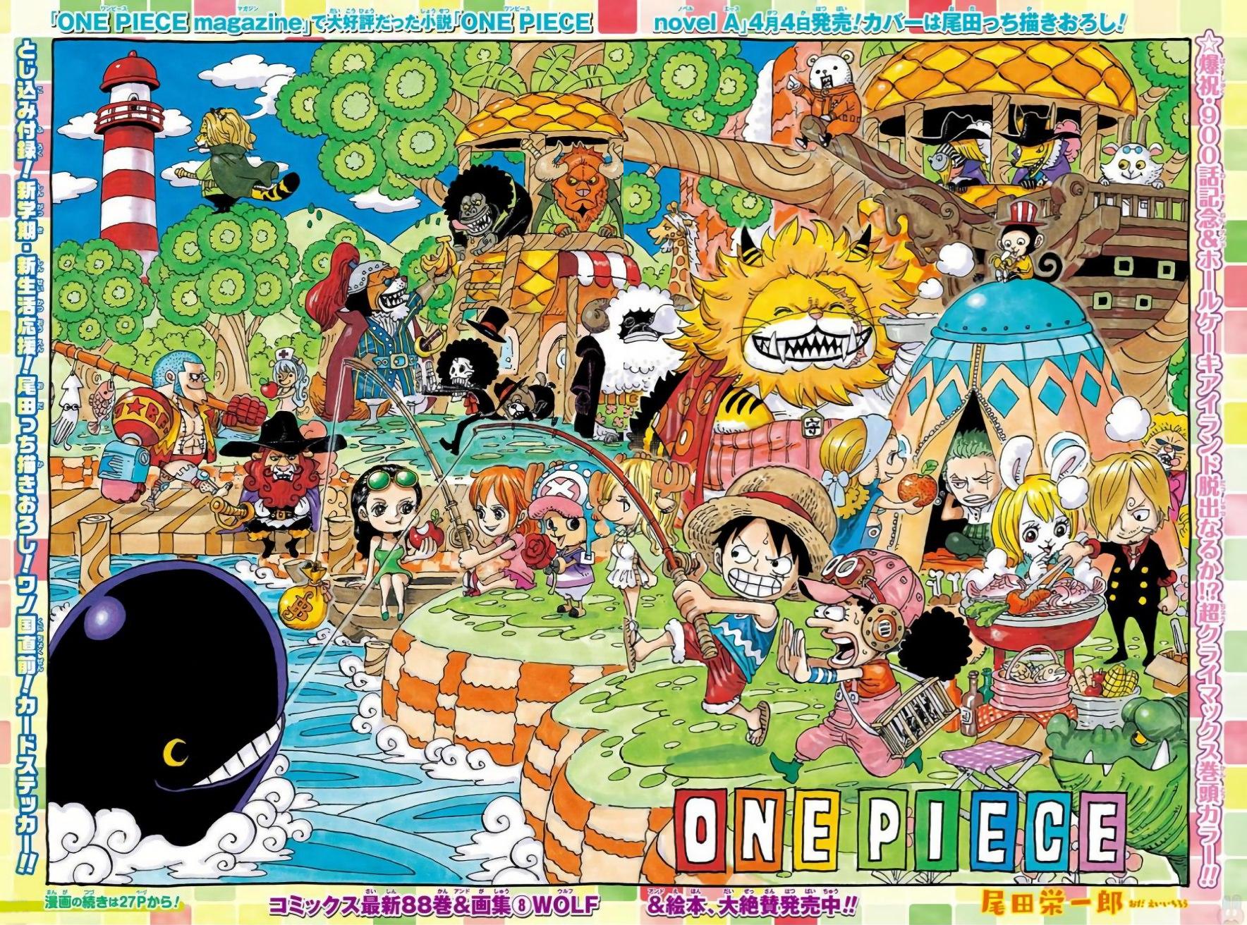 Chapter 900 | One Piece Wiki | FANDOM powered by Wikia