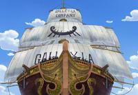 Galley-La Ship
