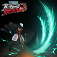 One Piece Burning Blood Dracule Mihawk (Artwork)