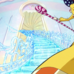 Perospero crea una scala con i suoi poteri