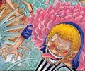 Doflamingo en la portada del capítulo 874