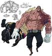 Douglas Bullet (No clothes) Anime Concept Art