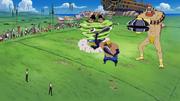 Groggy Monsters vs Zoro and Sanji