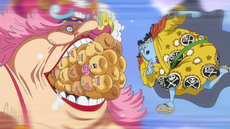 Jinbe calma a Big Mom