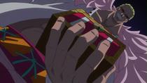 Traps Doflamingo for Luffy