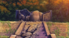 Asuka Altar of Ancestors After Destruction