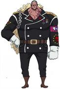 Concepto de Douglas Bullet en el anime