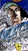 Kuzan Using Devil Fruit in the Manga