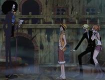 Luffy Meminta Brook untuk Bergabung