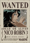 Nico Robin's Wanted Poster