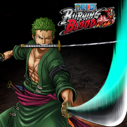 One Piece Burning Blood Roronoa Zoro (Artwork)