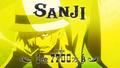 Présentation Sanji Film Gold