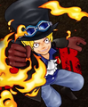 Sabo en Super Grand Battle X