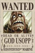 Poster Buronan Dewa Usopp