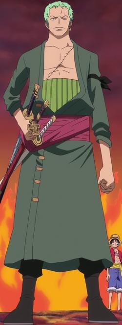 Roronoa Zoro Anime Dos Años Después Infobox