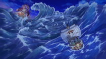 The Straw Hats Escape Totto Land