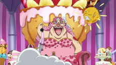Big Mom y Pudding se reúnen