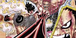 Gear fourth snakeman mangá colorido