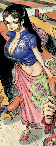 Nico Robin Manga Dos Años Después Infobox