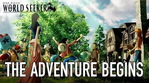 One Piece World Seeker - PS4 XB1 PC - The adventure begins (Behind the scenes)