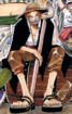 Shanks' Color Scheme With Hat and Cape