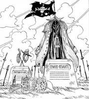 Tomb of Ace and Whitebeard Post Timeskip
