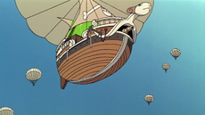 Мерри на парашюте