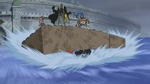 Impel Down Makeshift Raft